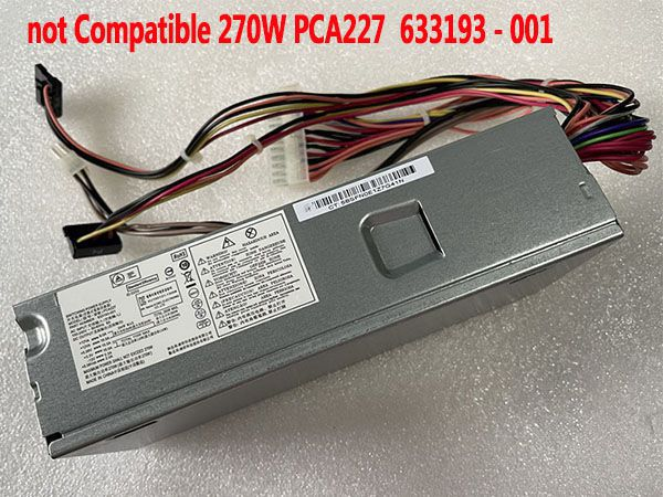 Alimentatore pc desktop  HP 633195-001