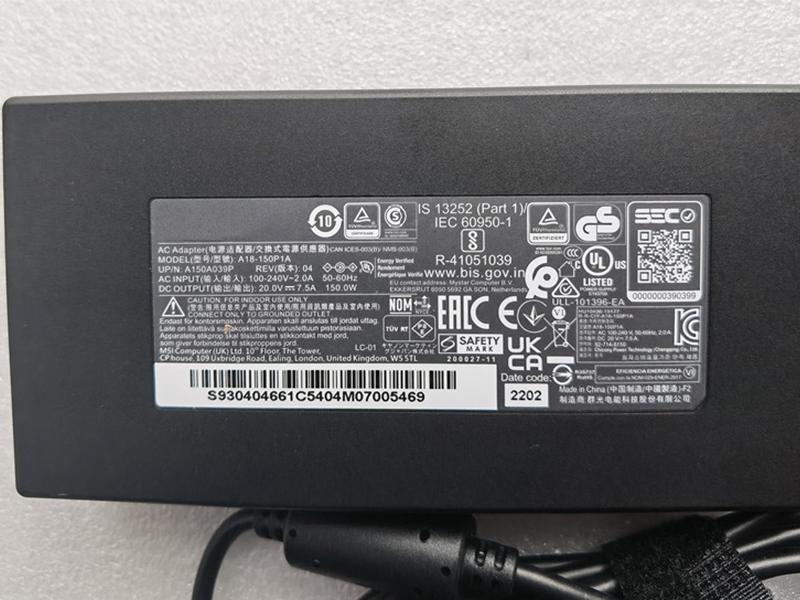 Adattatore ASUS ADP-150CH_B