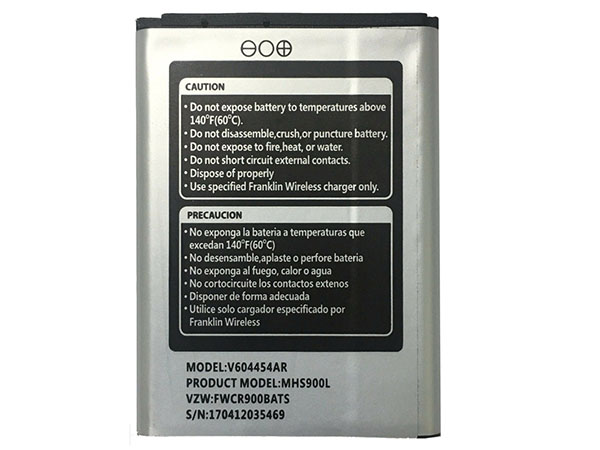 BATTERIA V604454AR
