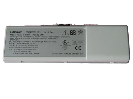 Notebook Batteria 23-050231-00