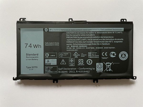 Notebook Batteria 357F9