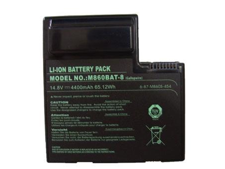 Notebook Batteria 6-87-M860S-454