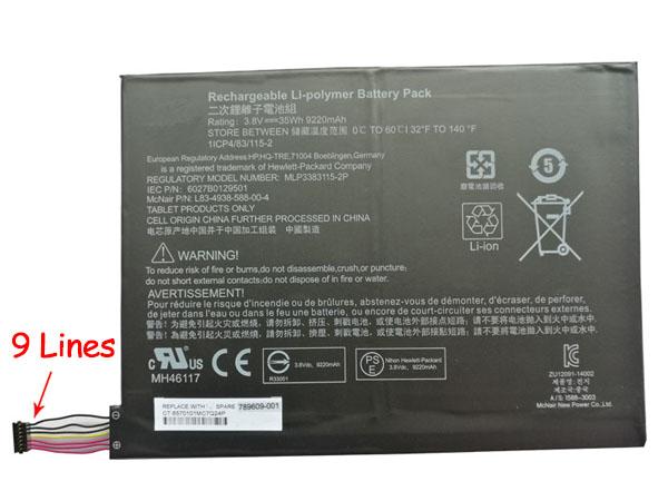 Batteria tablet 789609-001