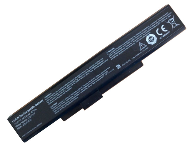 Notebook Batteria A32-C17