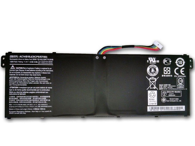 Notebook Batteria AC14B18
