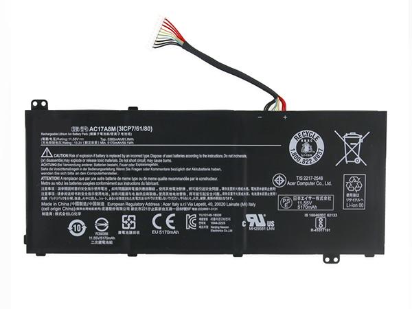 Notebook Batteria AC17A8M