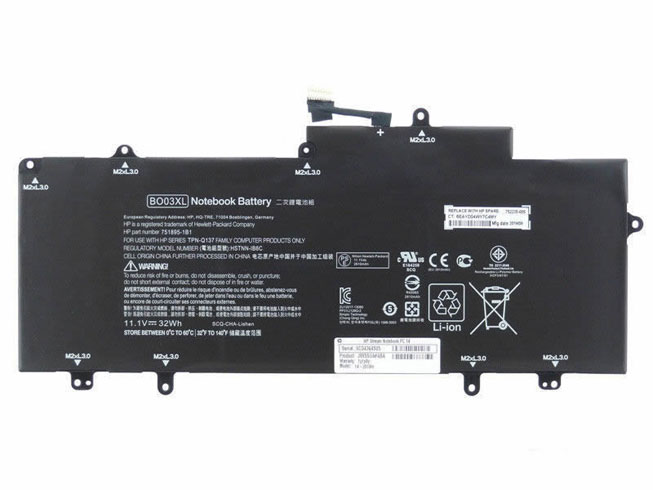 Notebook Batteria BO03XL
