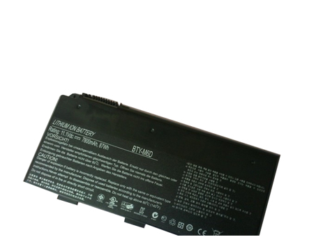 Notebook Batteria BTY-M6D