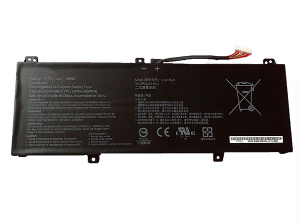 Notebook Batteria C22N1626