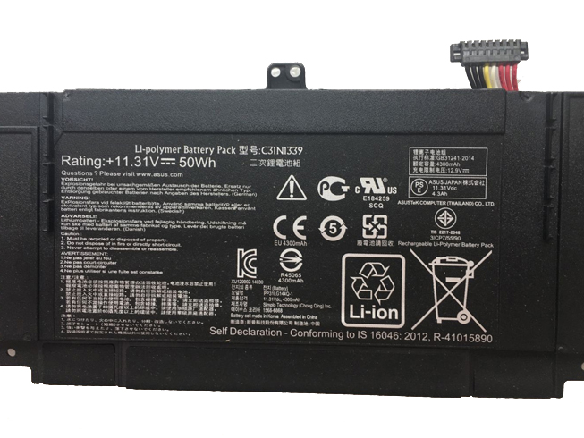 Notebook Batteria 0B200-9300000M