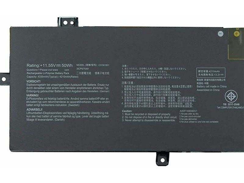 Notebook Batteria C31N1831