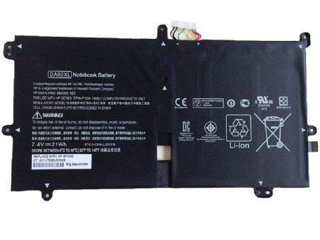Notebook Batteria DA02XL