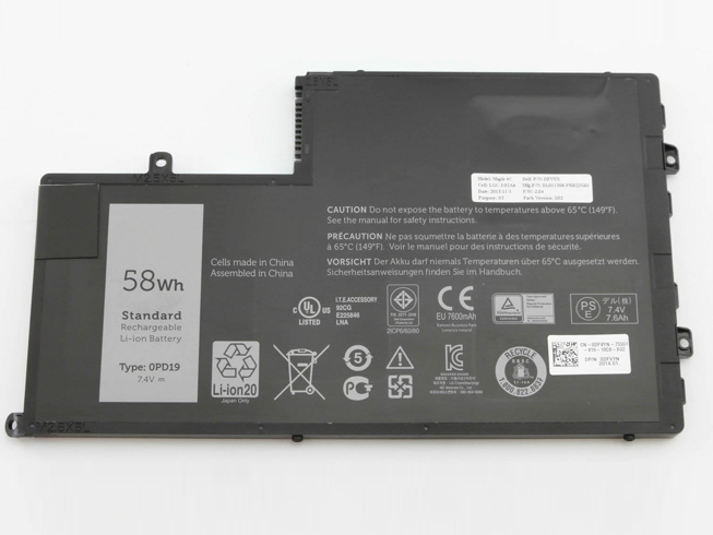 Notebook Batteria 0PD19