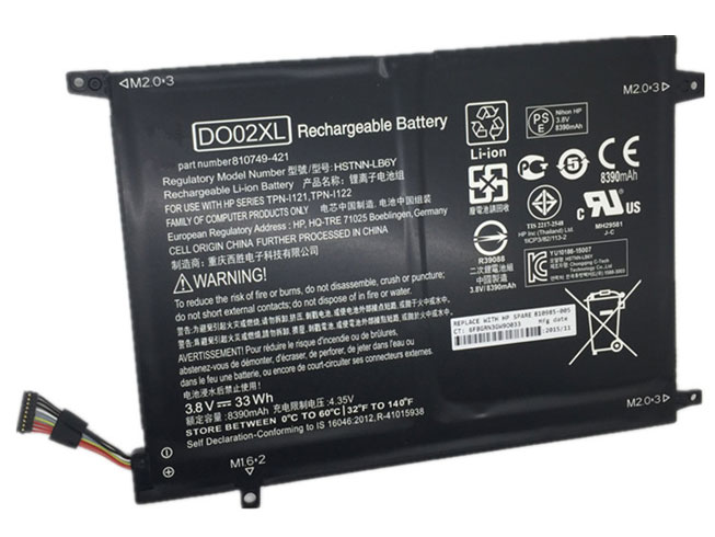 Notebook Batteria DO02XL