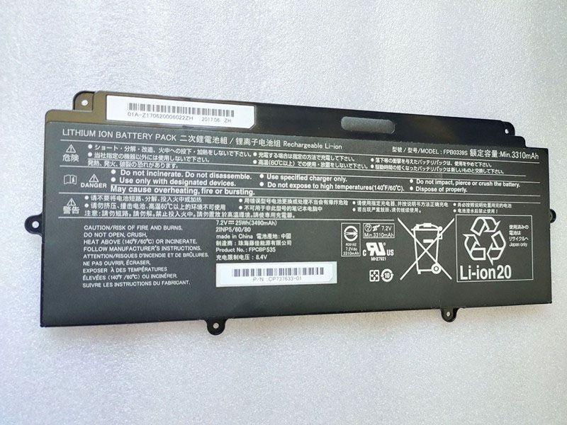 Notebook Batteria FPB0339S