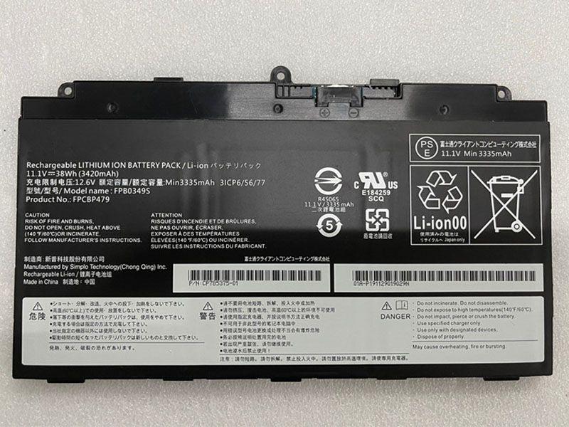Notebook Batteria FPB0349S