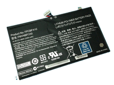 Notebook Batteria FPCBP410