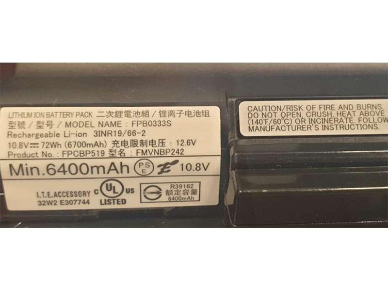Notebook Batteria FPCBP519