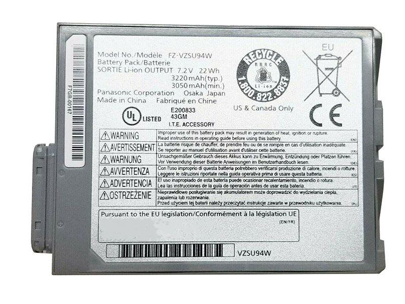 Notebook Batteria FZ-VZSU94W