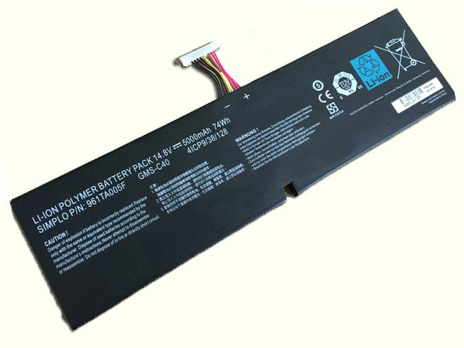 Notebook Batteria GMS-C40