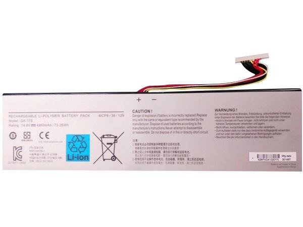 Notebook Batteria GX-17S