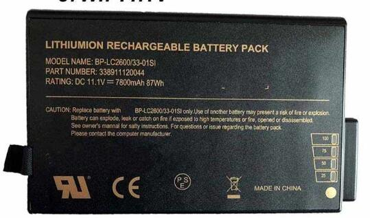 Notebook Batteria BP-LC2600/33-0101SI