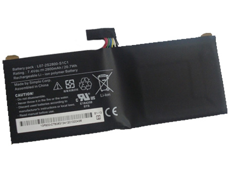 Notebook Batteria L07-2S2800-S1C1