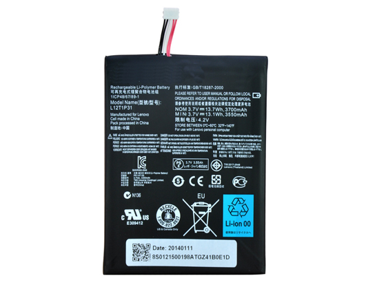 Batteria tablet L12T1P3