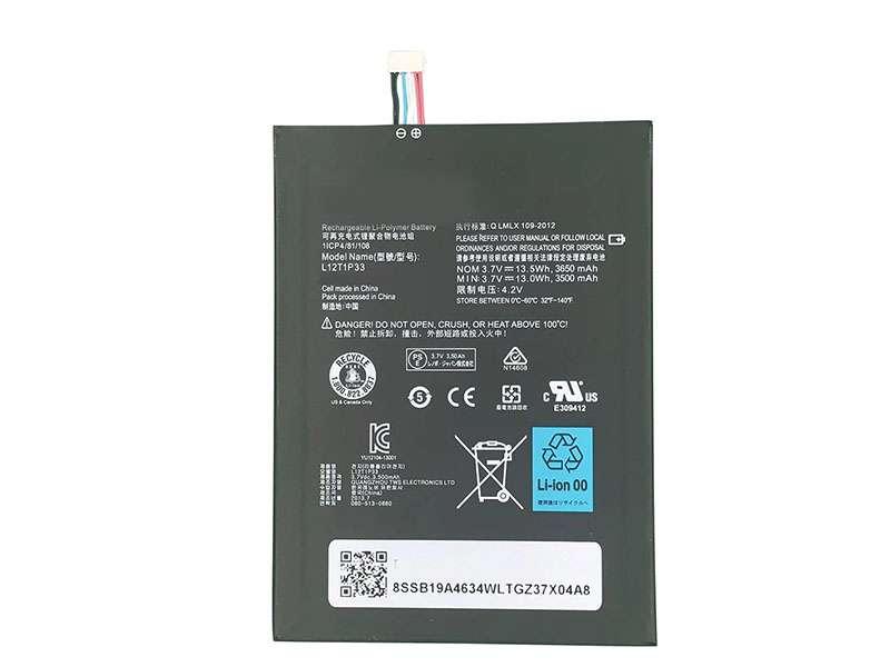 Batteria tablet L12T1P33