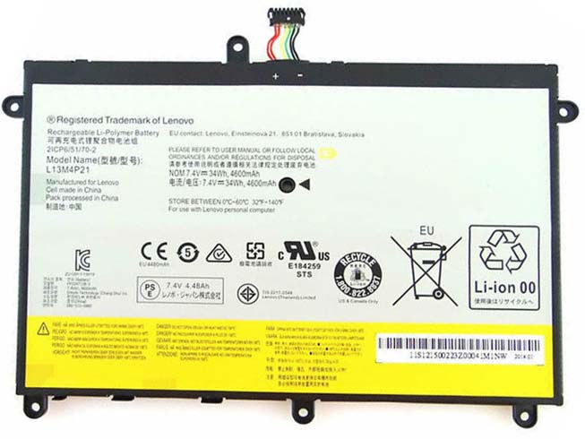 Batteria tablet L13M4P21
