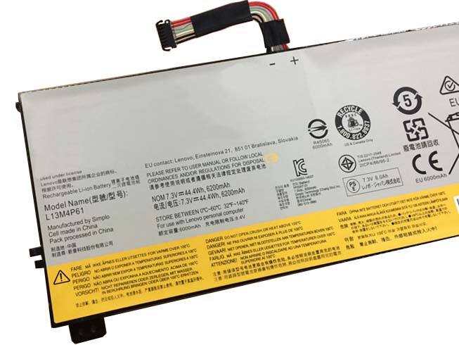 Notebook Batteria L13M4P61