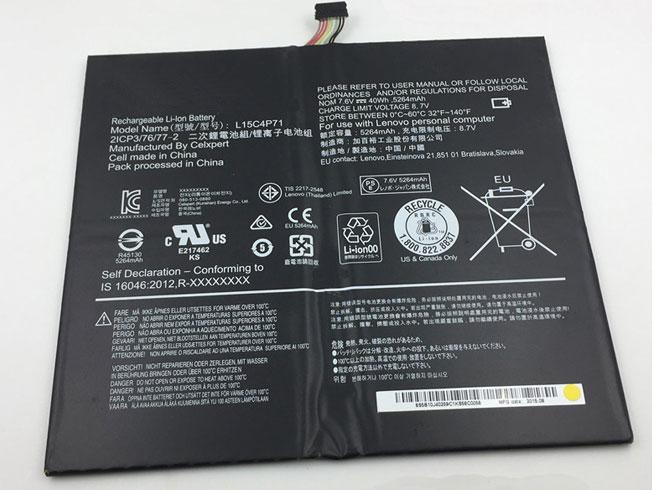 Batteria tablet L15C4P71