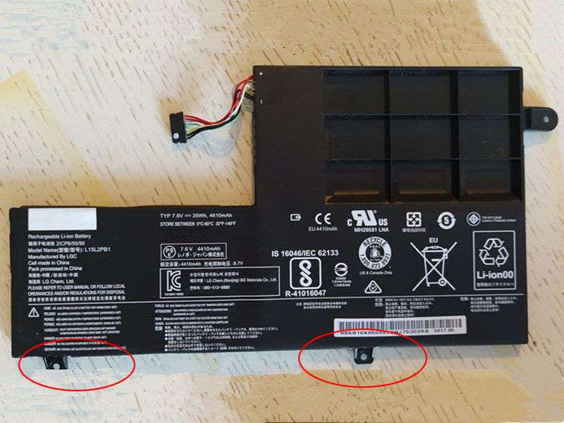 Notebook Batteria L15M2PB1