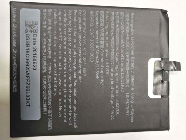Batteria tablet L16D1P32