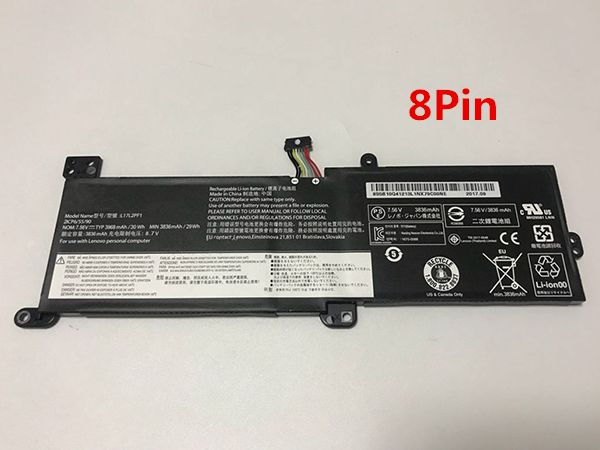Notebook Batteria L17L2PF1