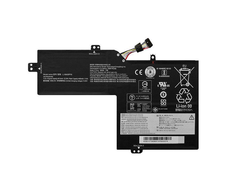 Notebook Batteria L18M3PF8