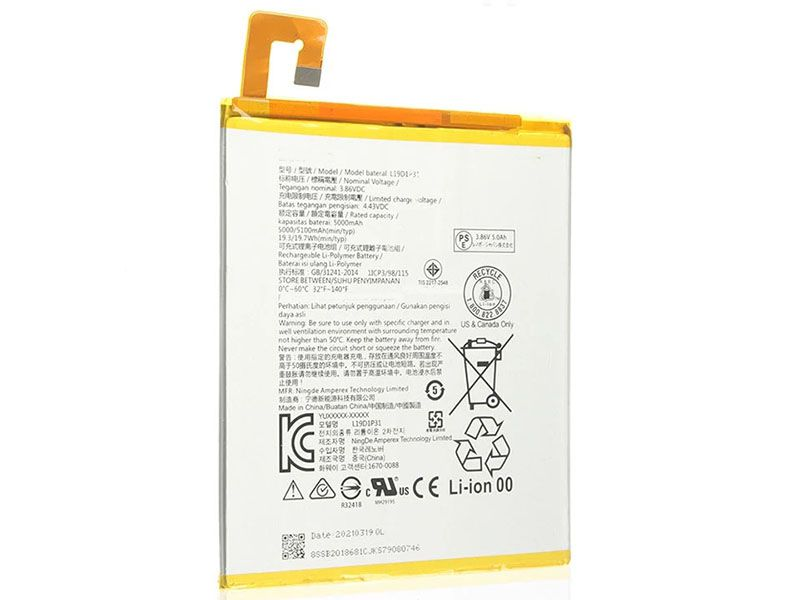 Batteria tablet L19D1P31