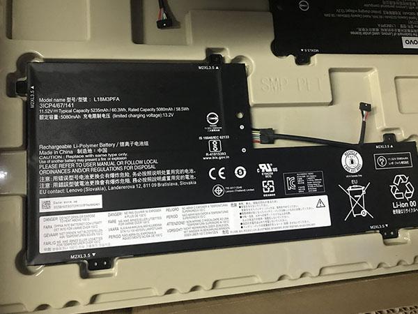 Notebook Batteria L18M3PFA