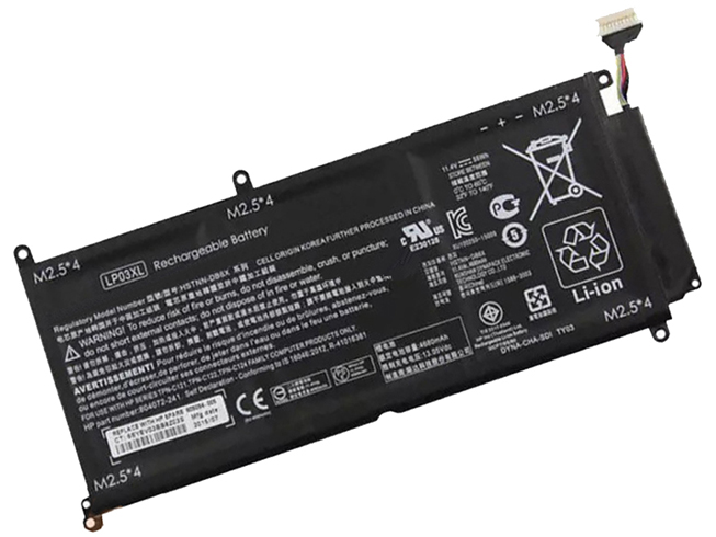 Notebook Batteria TPN-C124