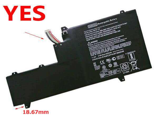 Notebook Batteria 863167-1B1