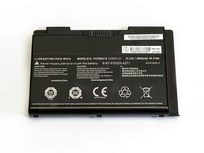 Notebook Batteria P370BAT-8
