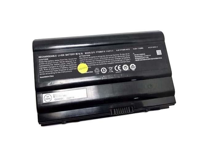 Notebook Batteria P750BAT-8