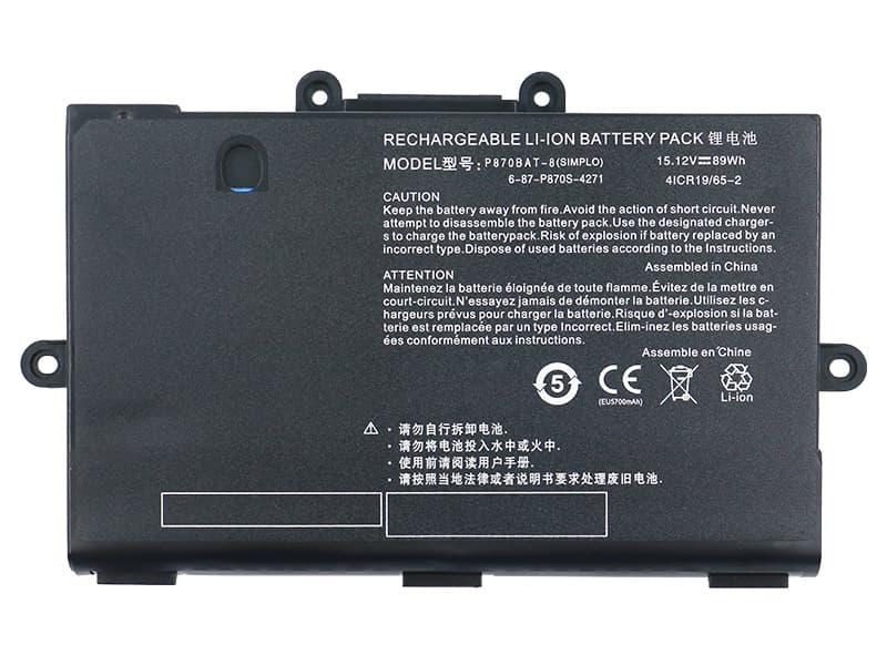Notebook Batteria 6-87P870S-4271