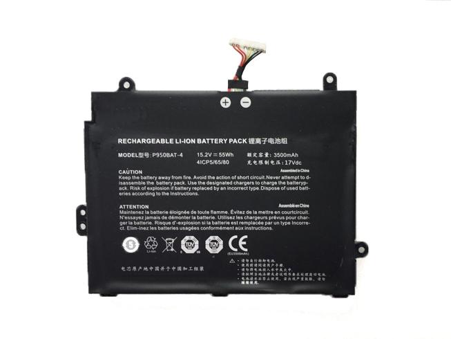 Notebook Batteria P950BAT-4