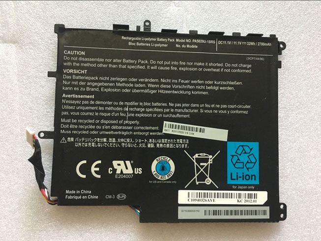 Notebook Batteria PA5029U-1BRS