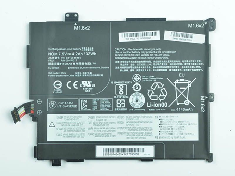 Notebook Batteria SB10F46455