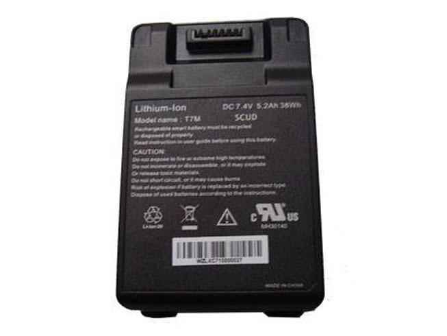 Notebook Batteria T7M_SCUD