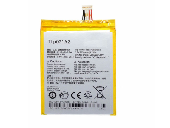BATTERIE CELLULARI TLP021A2