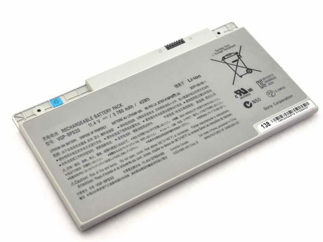Notebook Batteria VGP-BPS33