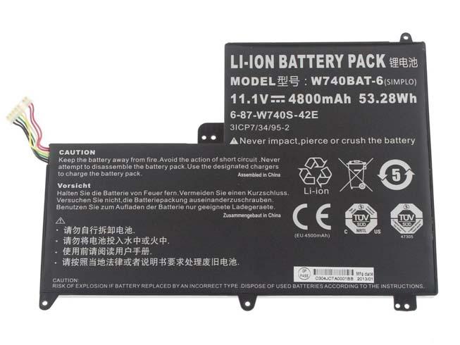 Notebook Batteria W740BAT-6